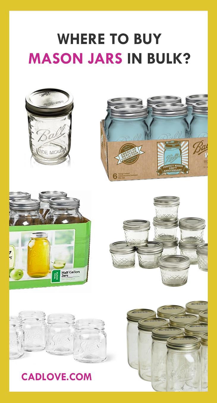 caa3925850e8 Buy Mason jars in bulk (wholesale). Learn where to buy beautiful ...