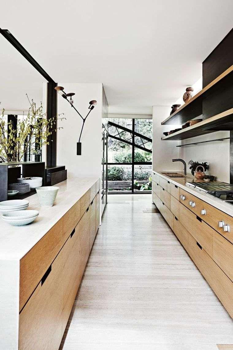 Aménager Sa Cuisine En Longueur comment aménager une cuisine en longueur ? (avec images