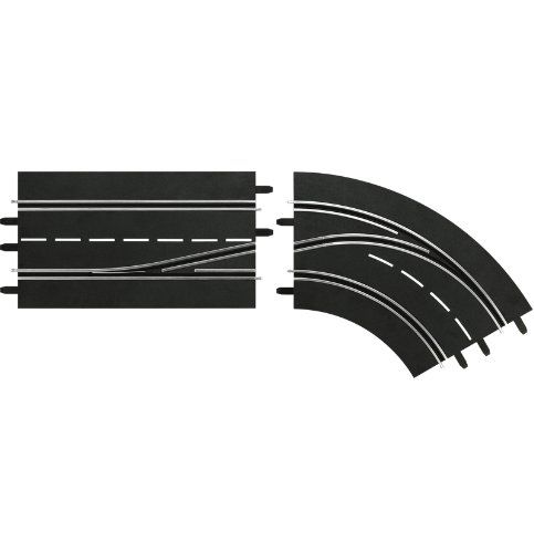 Carrera Digital 124132 Lane Change Right Curve In to Out >>> Click image to review more details.