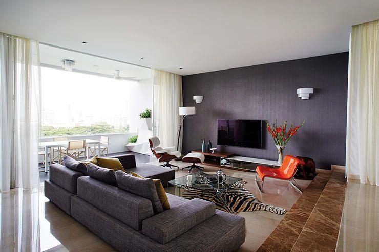 balcony design singapore living room - Google Search | New Home ...