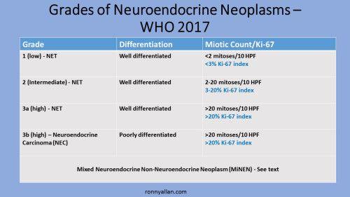 Neuroendocrine cancer mood swings - Papillomavirus warts