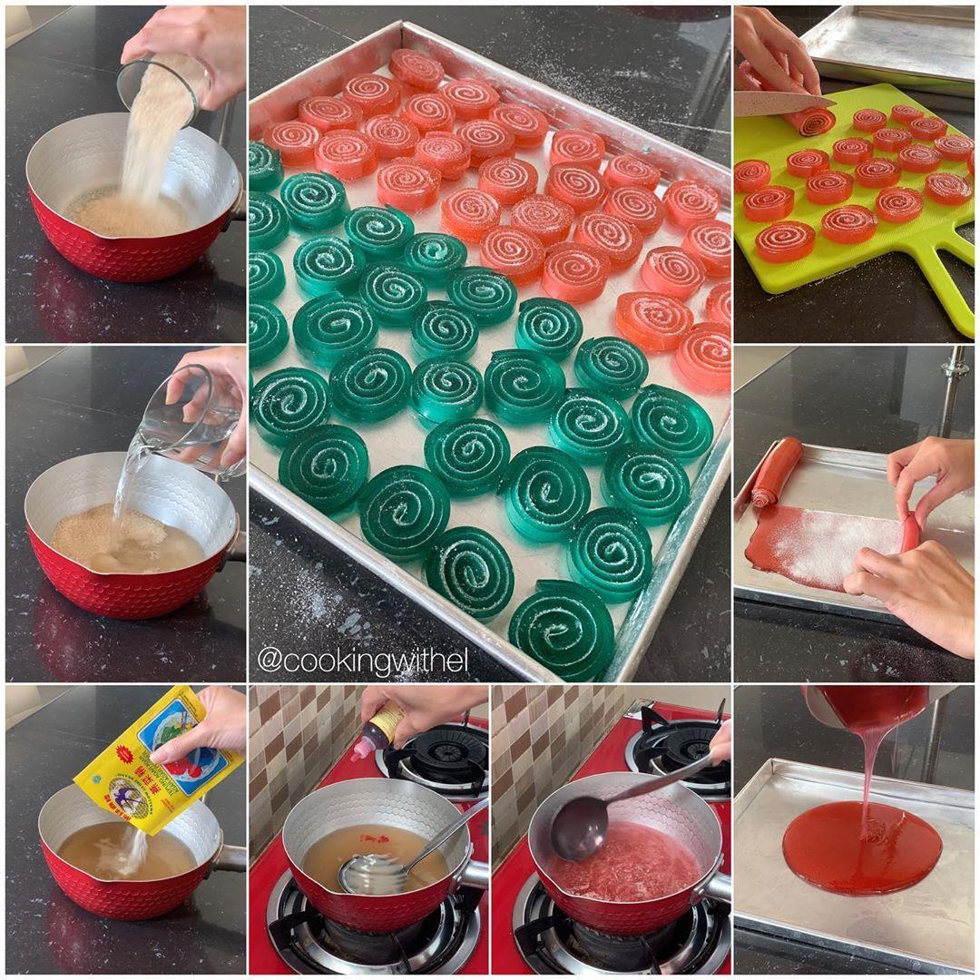 Resep Permen Jelly Gulung Cantik Dan Manis Resep Spesial Di 2020 Permen Resep Kecantikan