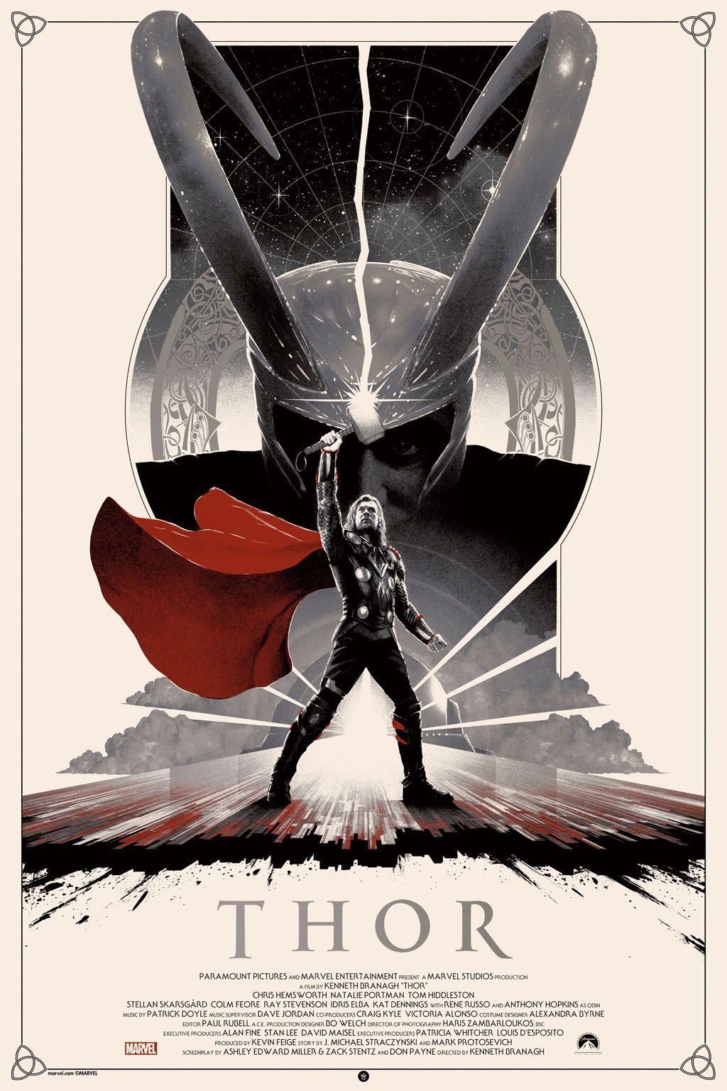 Thor Art Print by Matt Ferguson