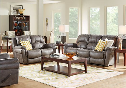 Picture Of Corbin Gray 5 Pc Living Room From Living Room Sets Alluring Living Rooms Sets Design Inspiration