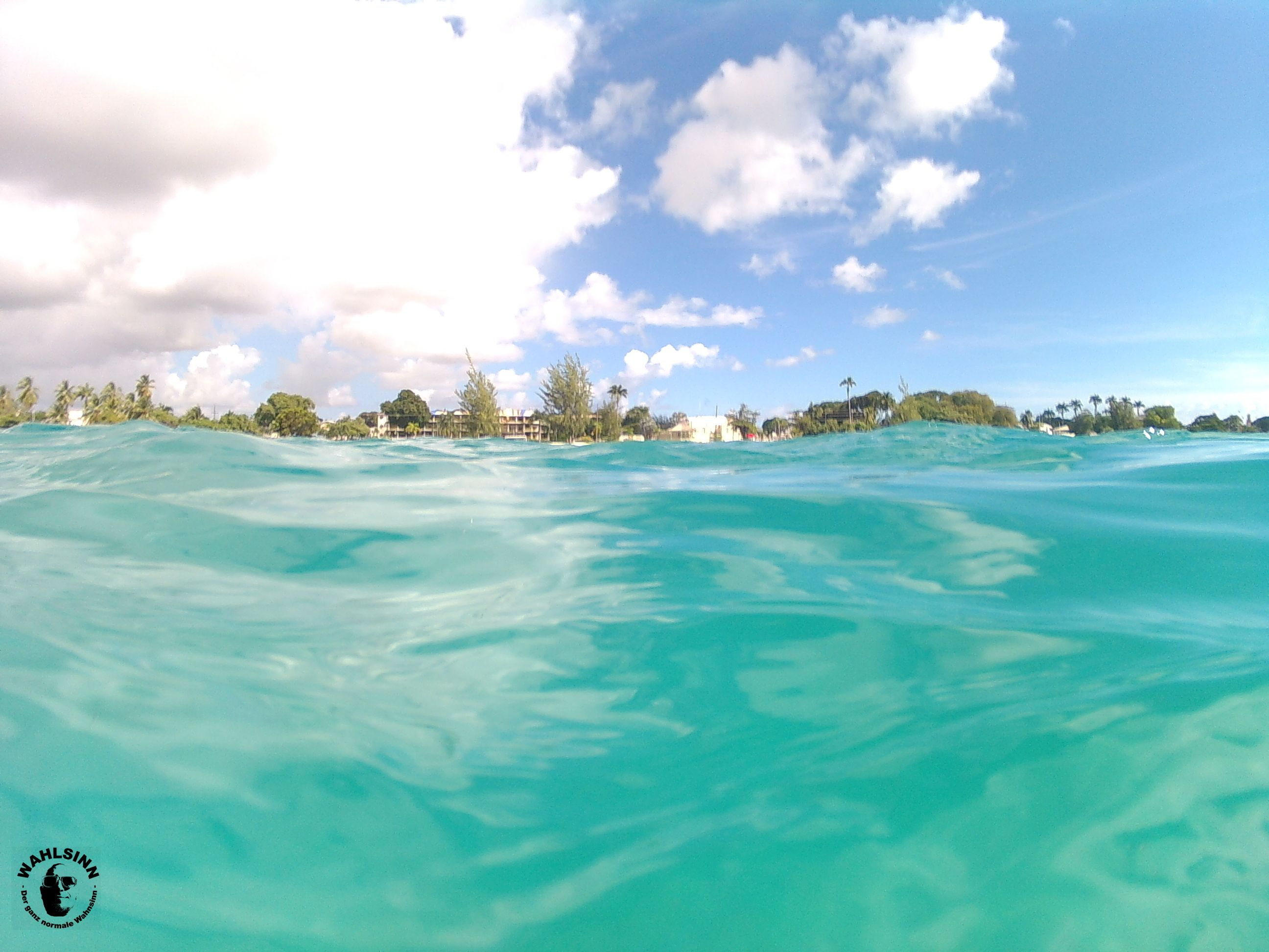 Barbados - kurz vorm abtauchen in ein Unterwasser Paradise