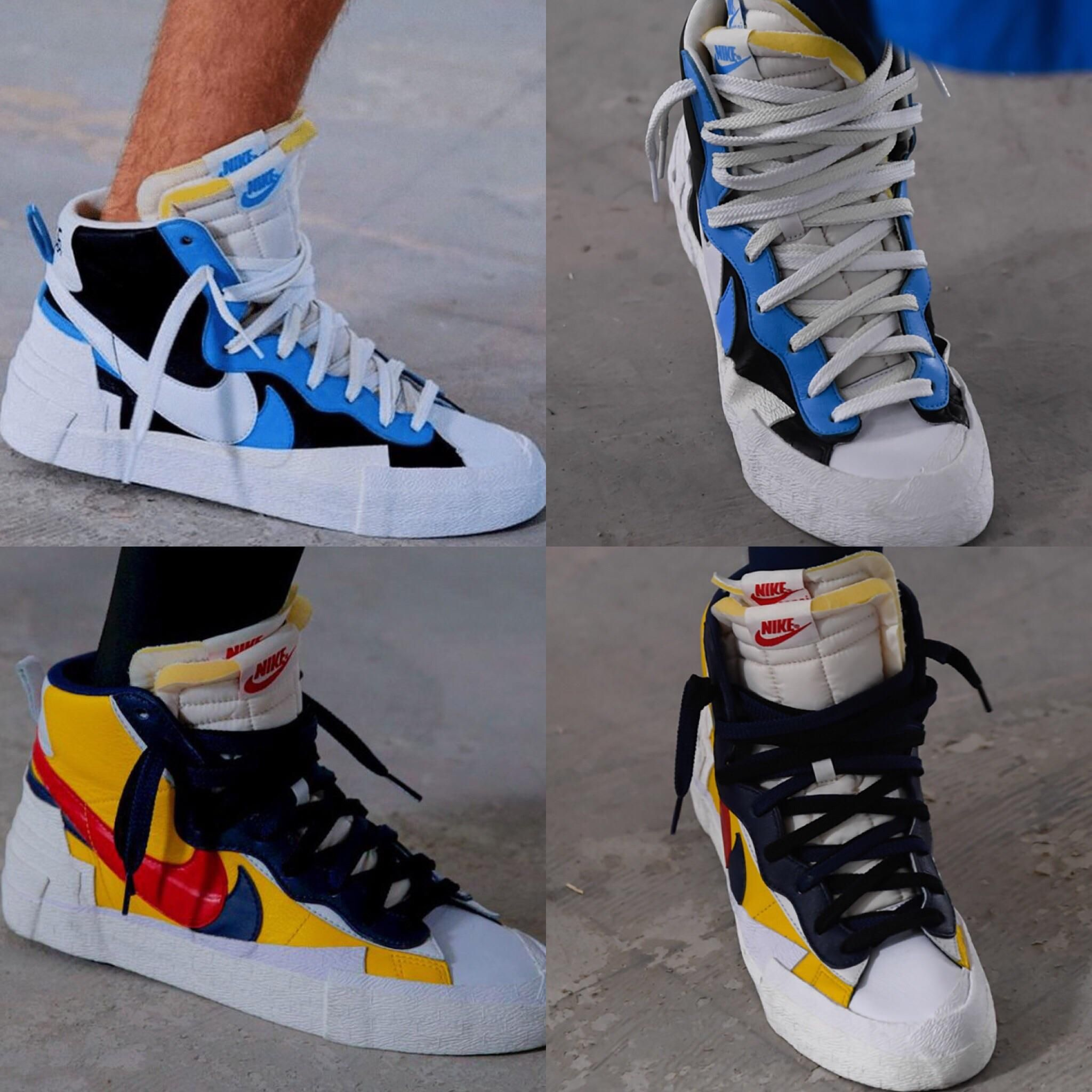 great fit factory outlets popular stores Sacai x Nike Blazer for S/S 19 : Sneakers in 2019 | Sneakers ...