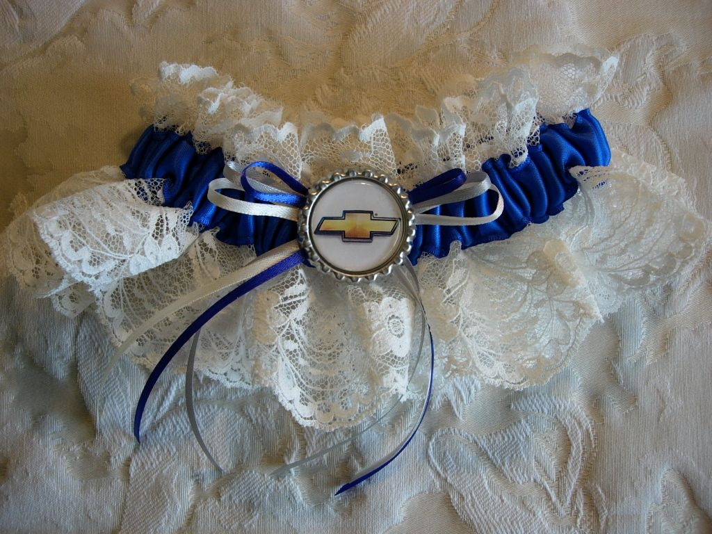 Chevy Wedding Garter Instead Of Blue It Would Be Orange