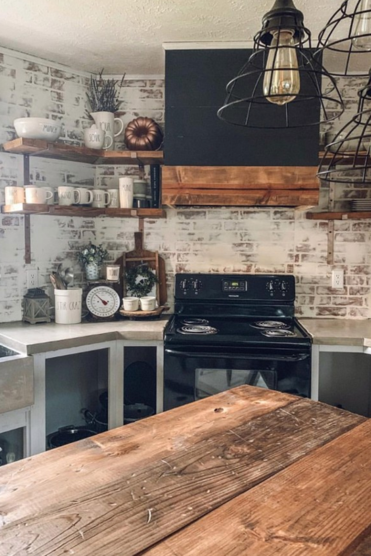 12 Rustic Kitchen Ideas #rustickitchendesigns