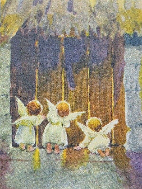 Originelle Weihnachtsbilder.Erica Von Kager So Sweet Artwork Vintage Christmas Christmas