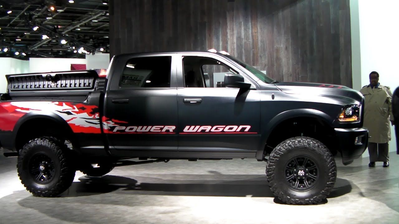 red and black nicely detailed dodge ram 2500 truck