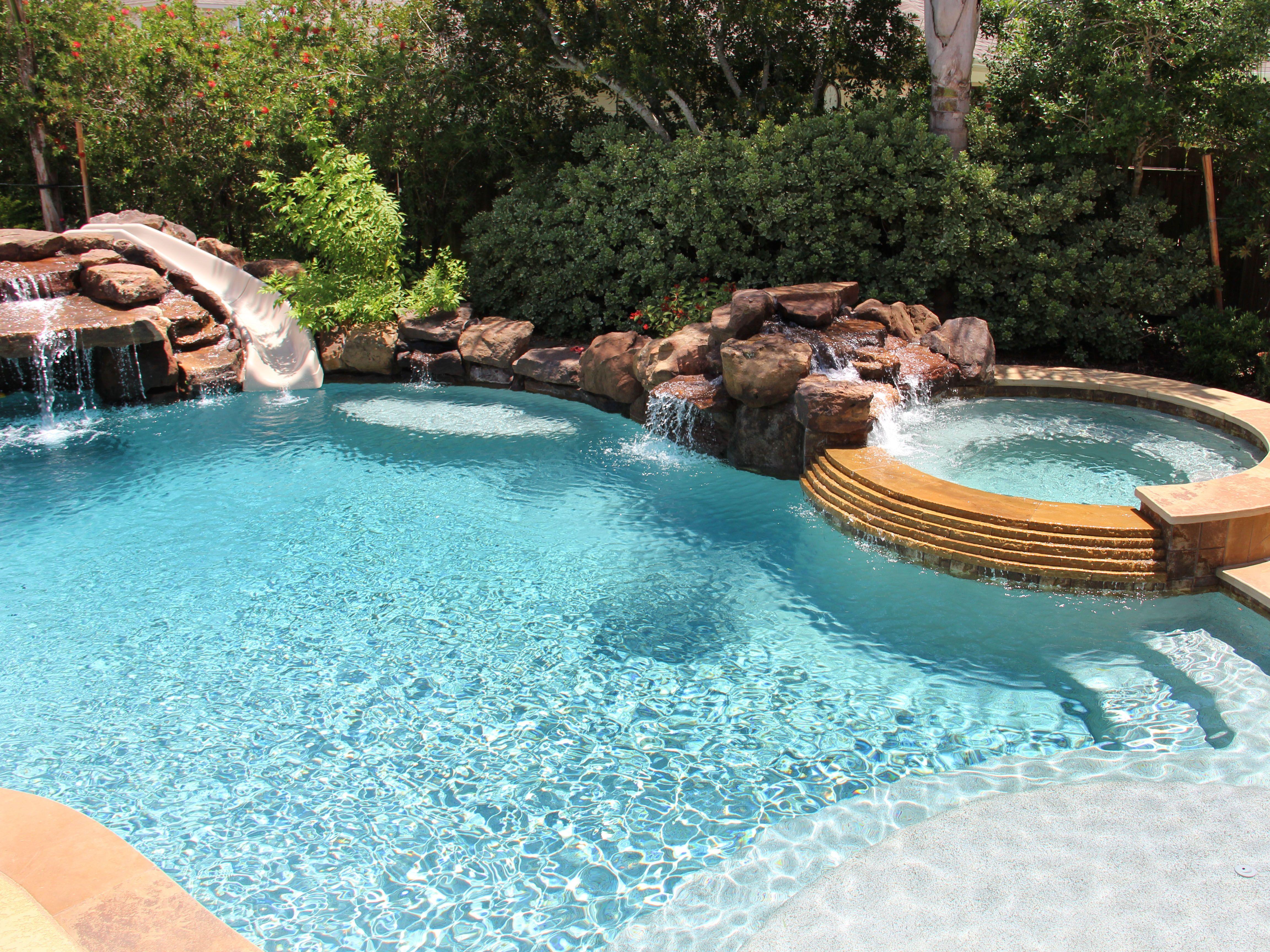 Free Form Swimming Pool Designs Natural Free Form Swimming Pools Design 267  Backyard & Front