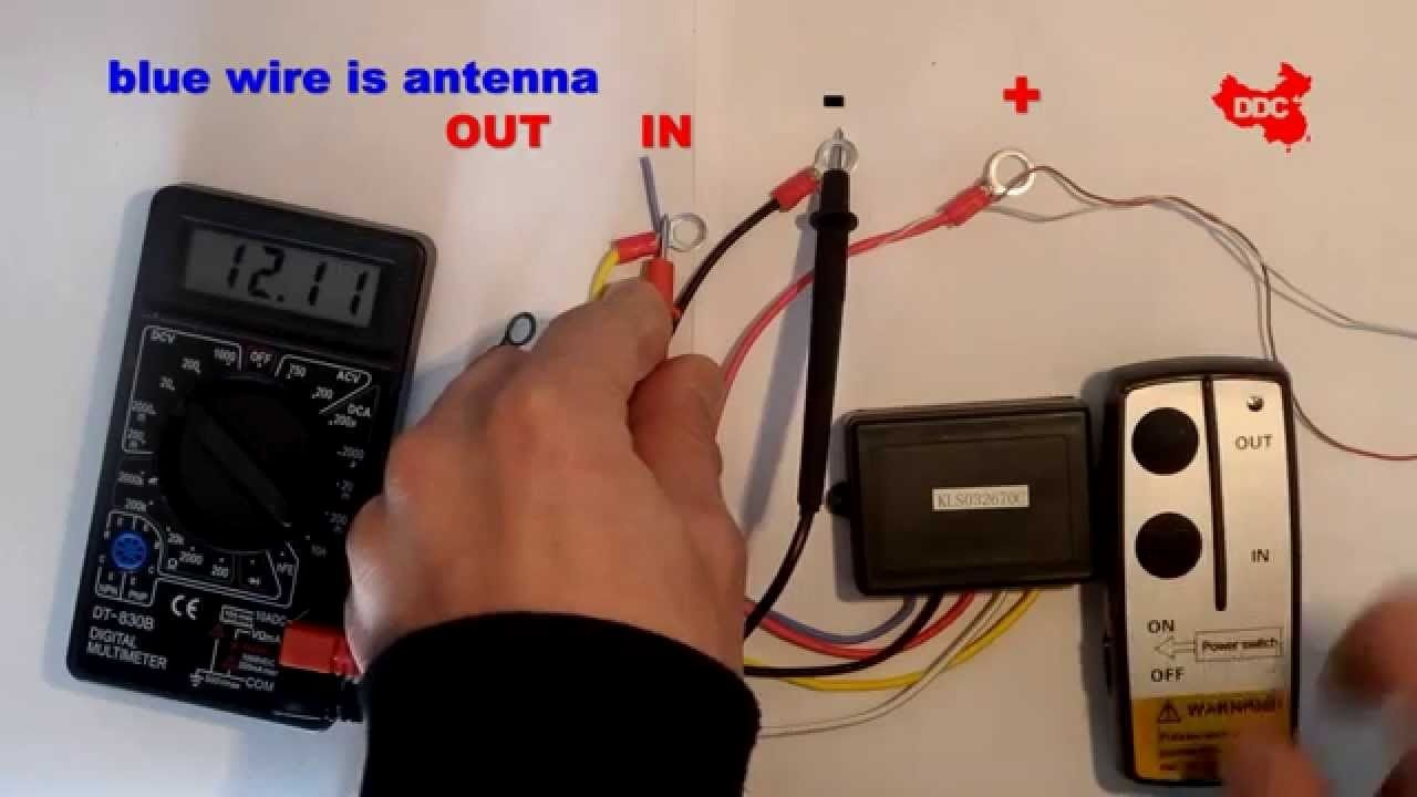 innovational ideas wireless winch remote wiring diagram with