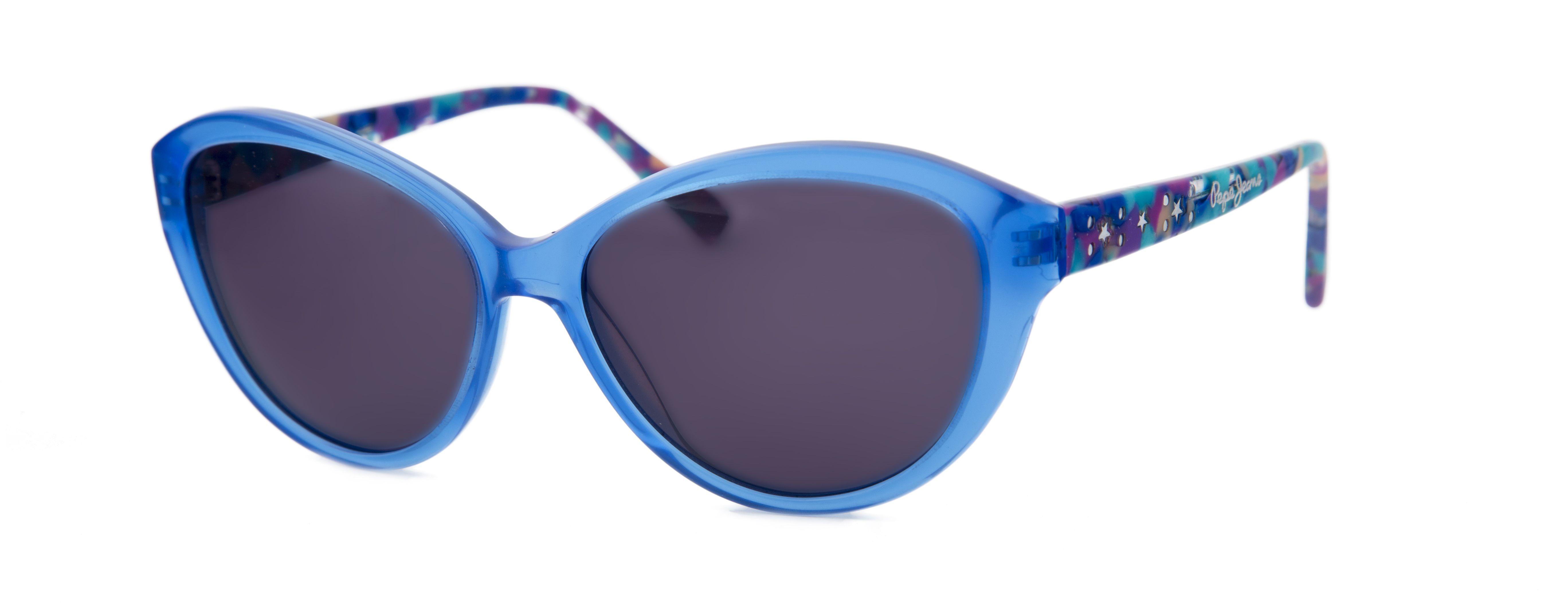 7700c56c08 Gafas Pepe Jeans para Opticalia. Montura negra con forma de ojo de gato y  detalles