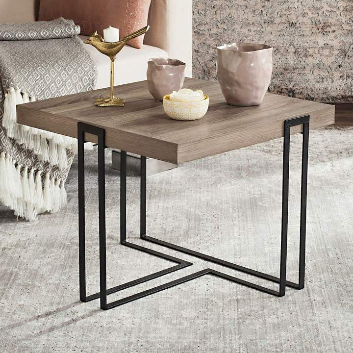 Safavieh Modern Contemporary End Table Wood End Tables
