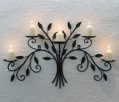 12119 Wall-Mounted Candle Holder 70 cm Wrought Iron DanDiBo Ambiente http://www.amazon.co.uk/dp/B00AP5104A/ref=cm_sw_r_pi_dp_9wpovb0HRR7FH
