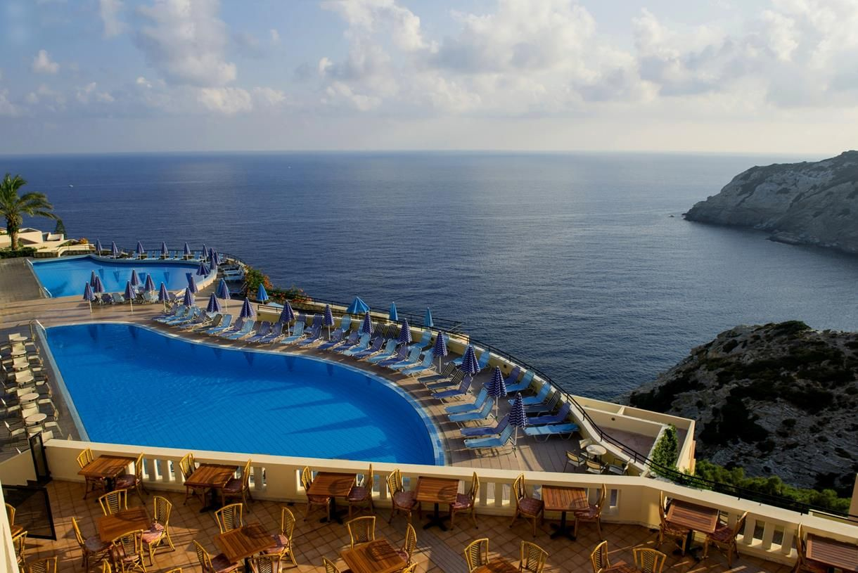 hotel chc athina palace resort spa in crete hotels lygaria crete rh pinterest ca