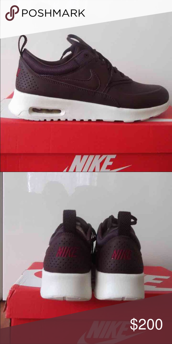 Nike air max thea burgundy / mahogany new in box, willing to trade as well