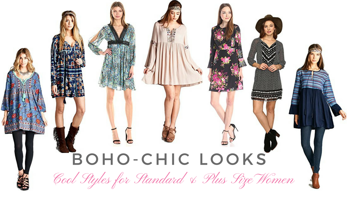 Photo of Boho-Chic Looks – Cool Styles for Standard & Plus Size Women – FASHION – Plus Size Clothing