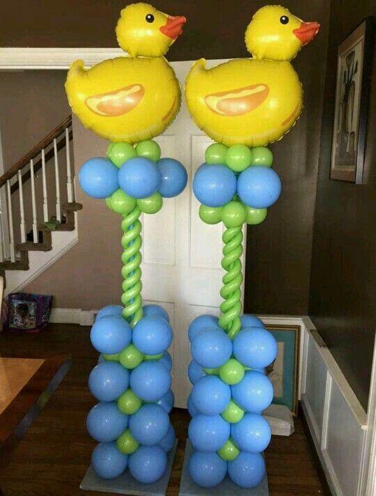Patitos Decoraci 243 N Con Globo Pinterest Balloon