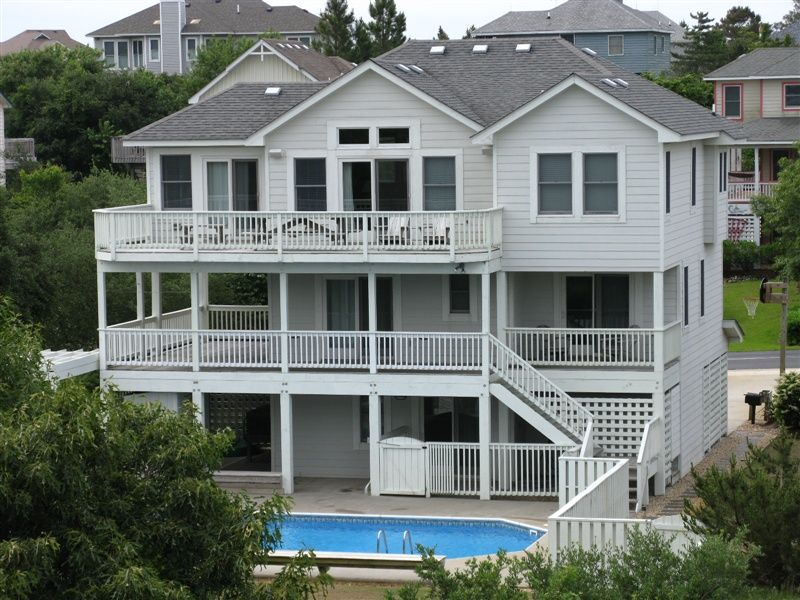 virginia breeze 871 l duck nc outer banks vacation rental home rh pinterest com