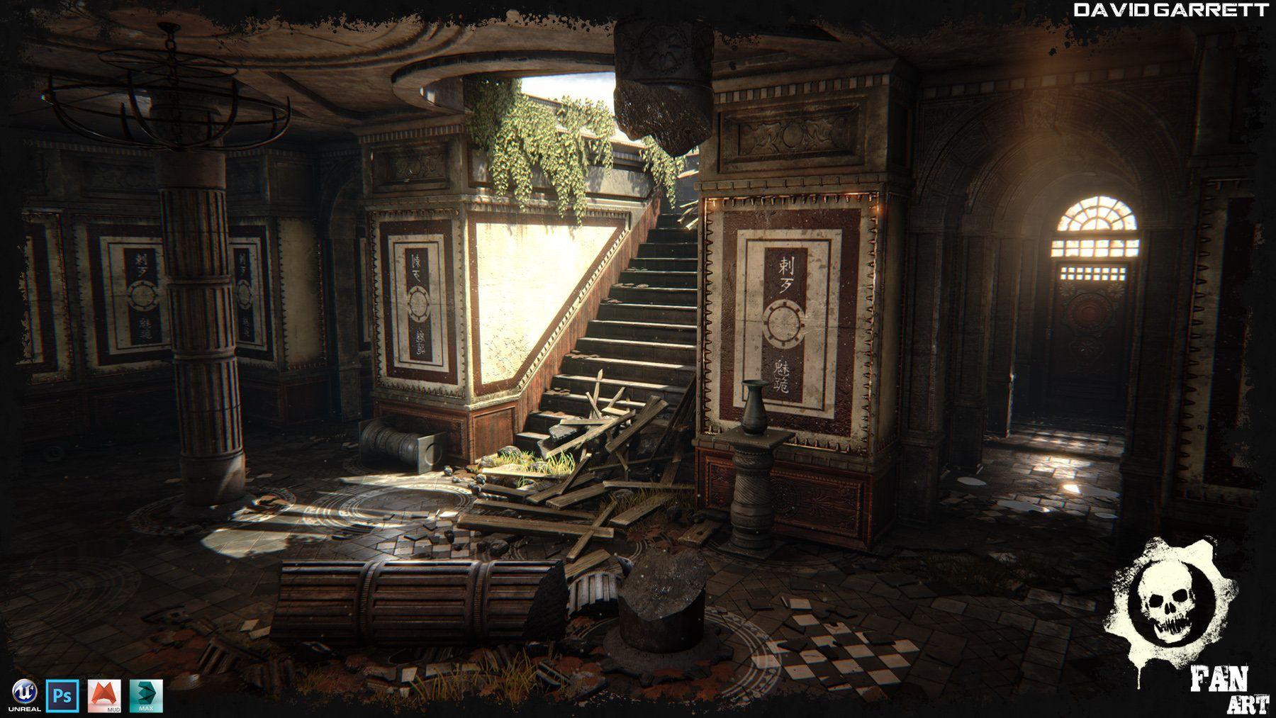 ArtStation - gears of war environment Unreal engine 4
