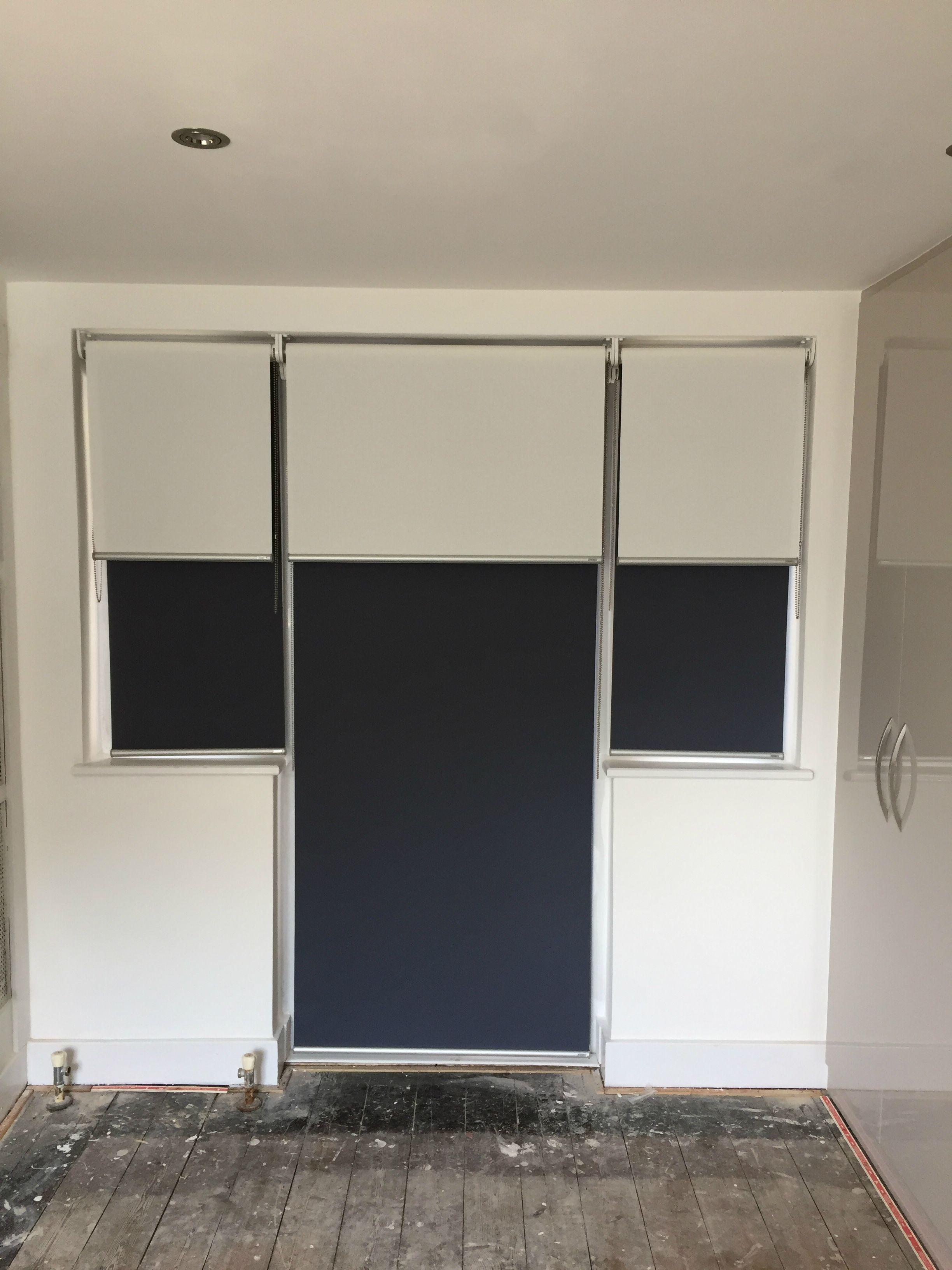 Doubledual roller blinds blackout and sunscreen roller blinds