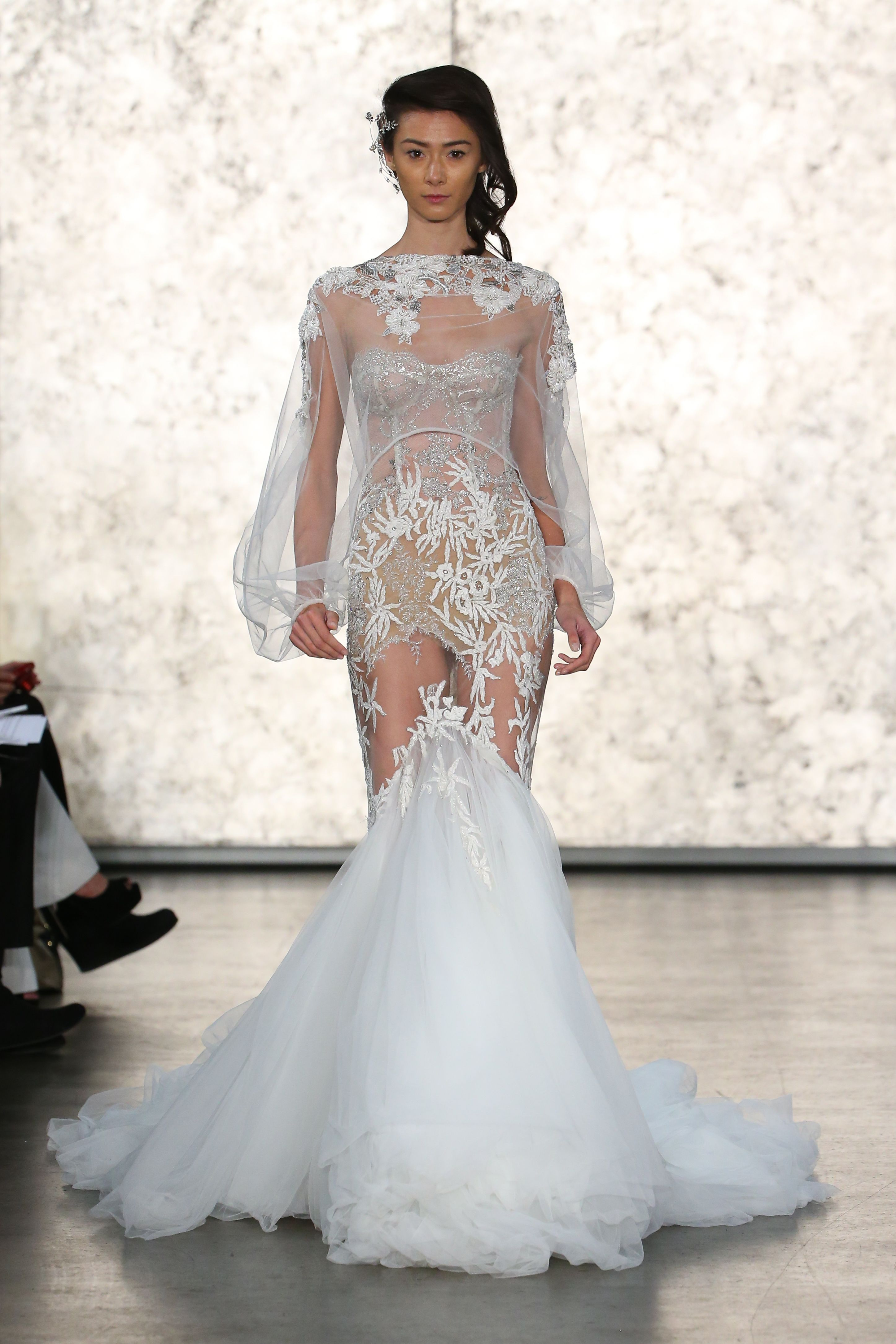 wedding ceremony new york city%0A Inbal Dror Fall      Bridal Collection  exclusively available in New York  City at Mark Ingram