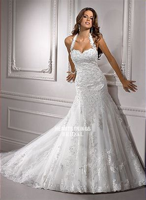 like the top - Heartstrings Bridal - Bridal Gowns - Maggie Sottero - Maggie Sottero Camden