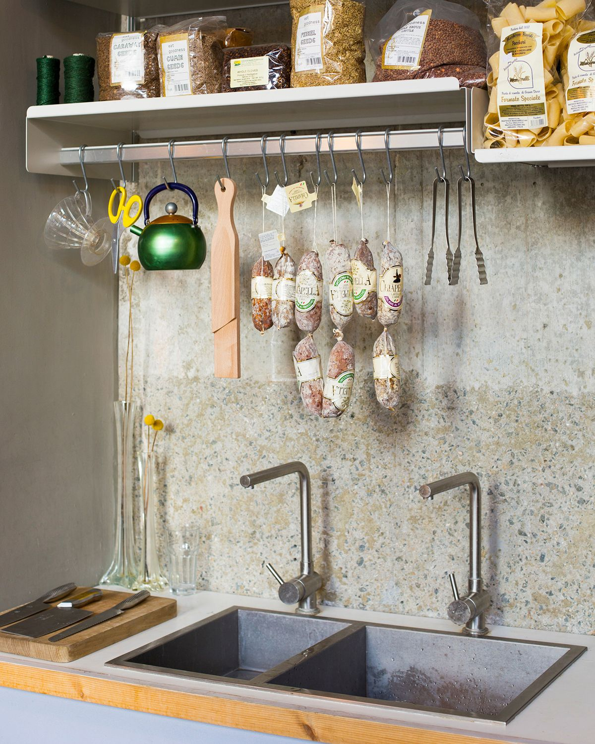 not just for jackets your vits shelf with hanging rail can be used rh pinterest com