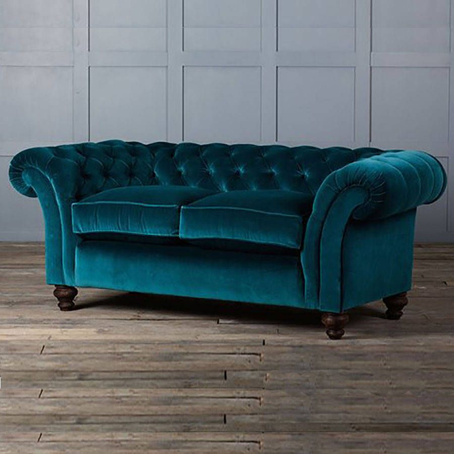Beautiful The Monty Velvet Chesterfield Sofa
