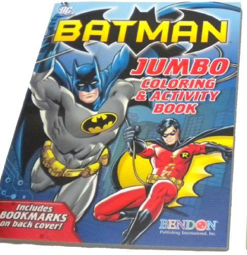 Batman Coloring Activity Book FREE 24pc Colorful Crayons By Bendon 299 96
