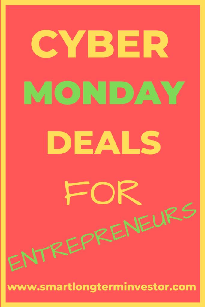 Cyber Monday deals & sales for entrepreneurs #cybermonday #cybermondaysales #cybermondaydeals #cybermonday2019 #cyberweekend #cyberweekenddeals #cyberweekend2019 #blackfriday #blackfridaydeals #cybermondaydeals #cyberweekenddealsforentrepreneurs #cyberweekend2019 #cyberdeal