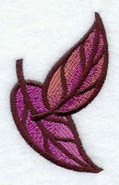 Art Deco Leaves 2 design (D8278) from www.Emblibrary.com