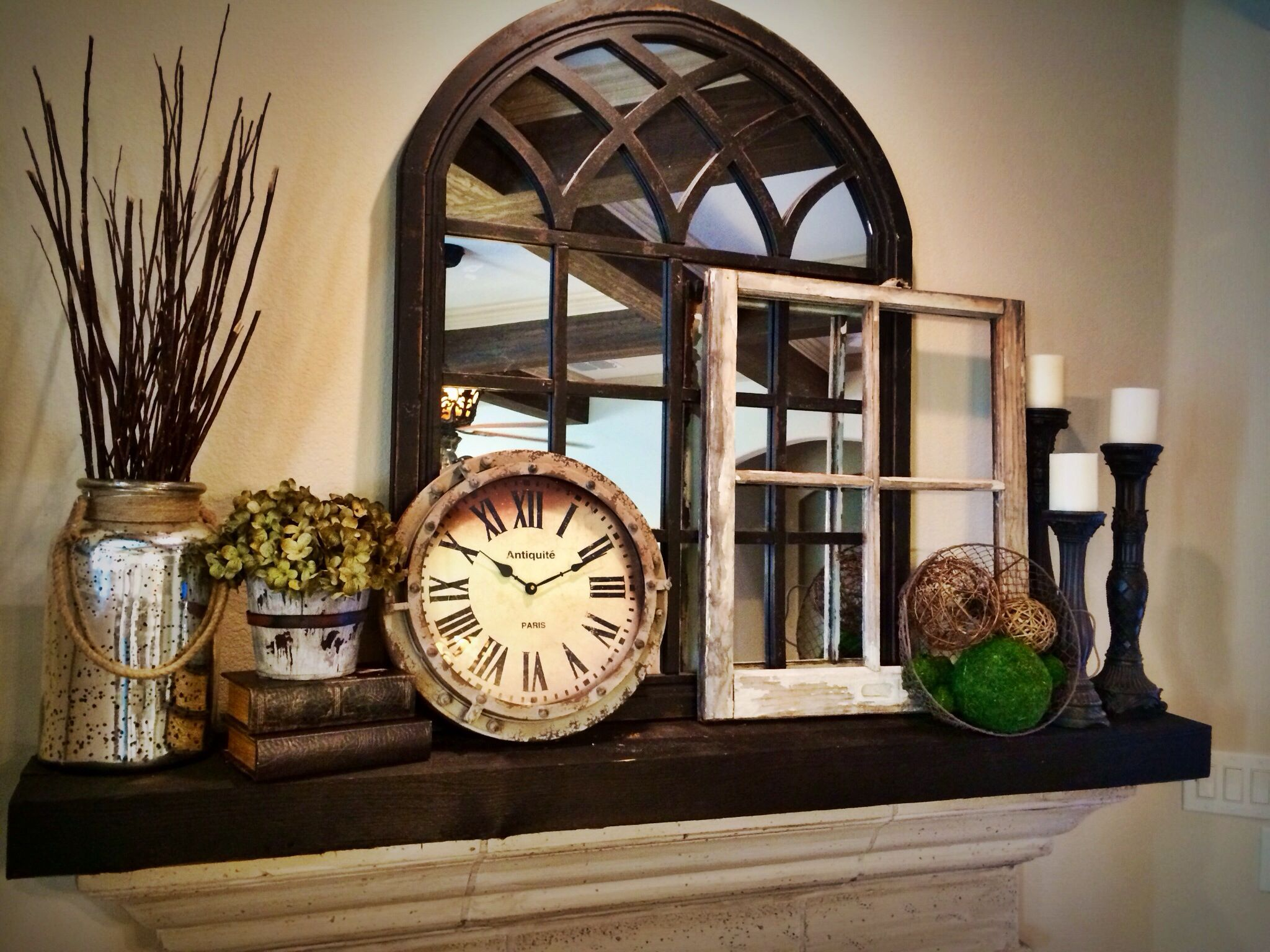 looking for a mirror like this but in white for above my fireplace rh pinterest com