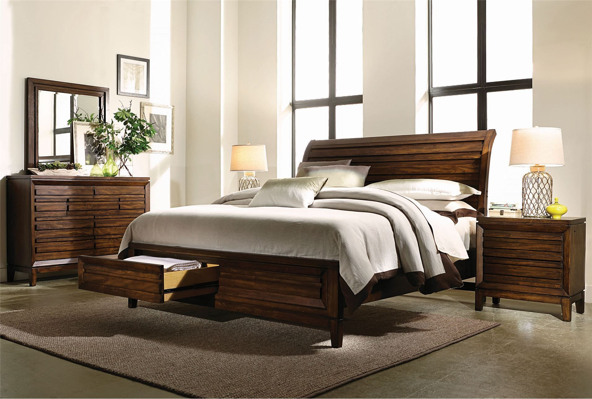 Best Rhodes Queen Storage Bed King Bedroom Furniture King 400 x 300