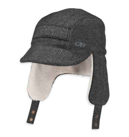 bdd5e06195a1b Amazon.com  Outdoor Research Women s Trophy Trapper Hat  Clothing ...