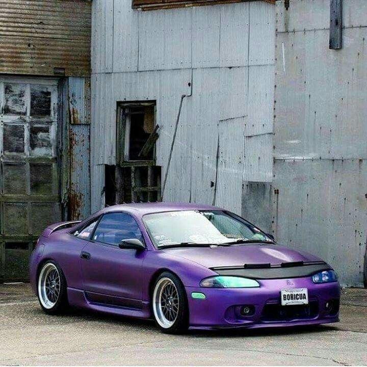 Yasssss! Royal Purple 2G Eclipse.