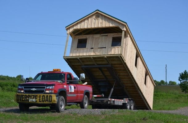 Built On Site Custom Amish Garages In Oneonta Ny: Amish Pole Barns & Sheds For Sale Oneonta NY By Amish Barn