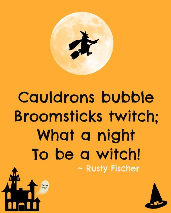 Oh What A Fright A Halloween Poem Halloween Poems