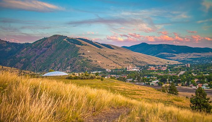 Known As The Garden City Missoula Is Located 140 Miles