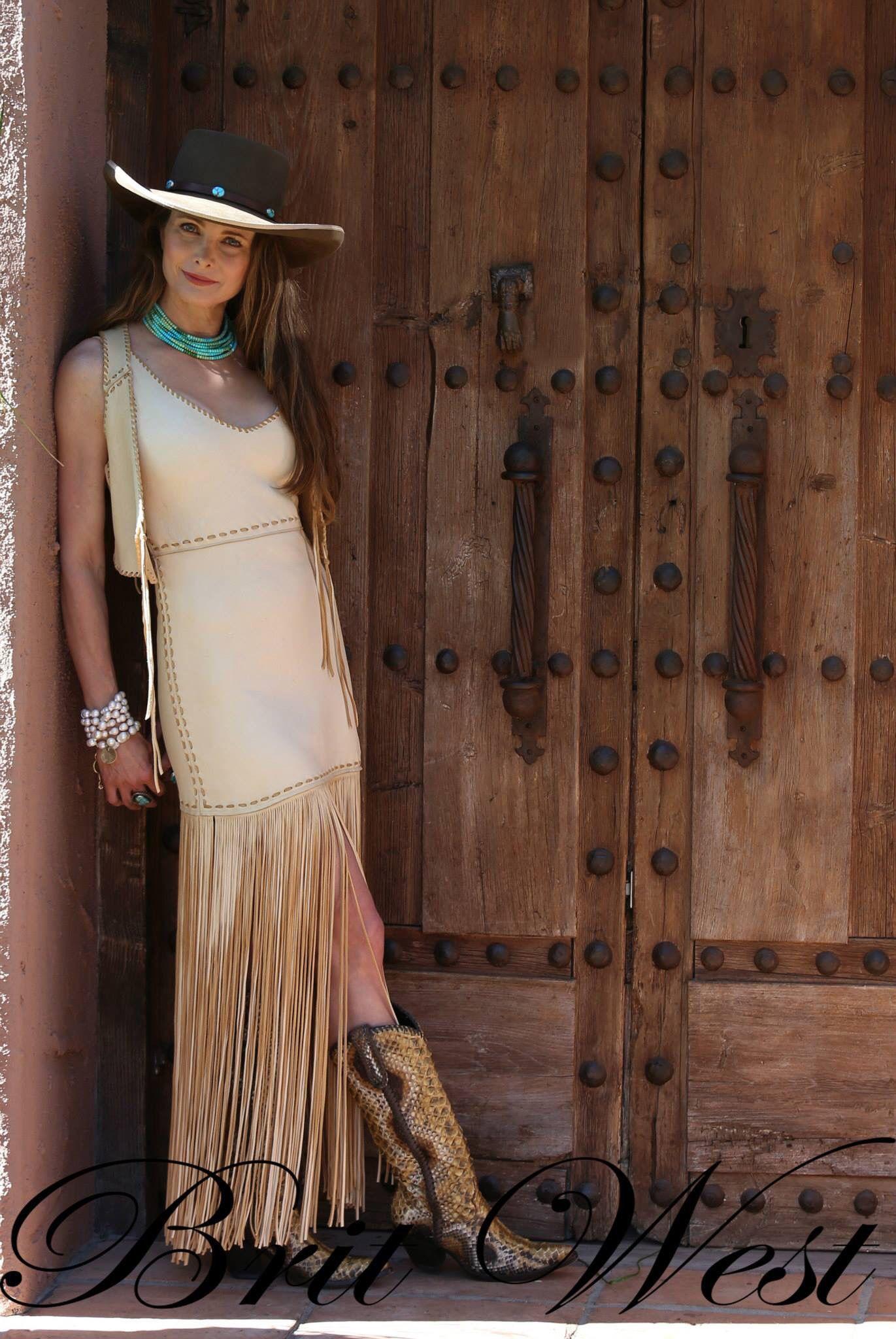 Britwest.net Beautiful deerskin dress with deerskin Shorty ...