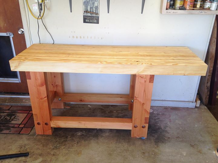 Best Southern Yellow Pine And Fir Workbench For Woodworking 400 x 300