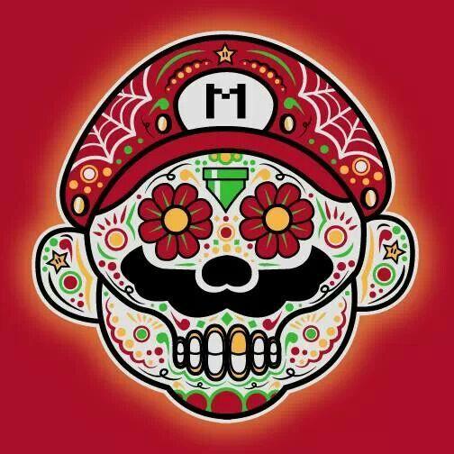 Dia de los Muertos tshirt from Pop Up Tee.