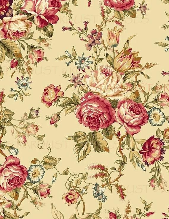 printable paper download floral art instant antique background rh pinterest com