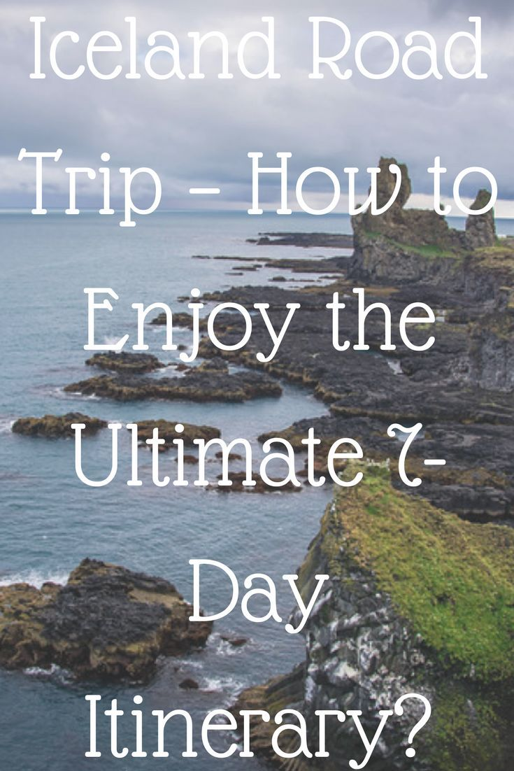 Interactive Map Usa Road Trip%0A Iceland Road Trip  How to Enjoy the Ultimate  Day Itinerary    Iceland  roads  Iceland and Road trips