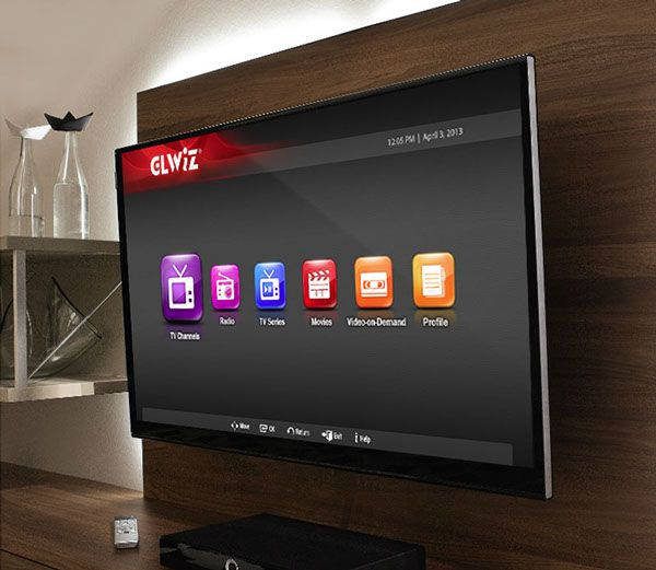 GLWiZ Application (by Group of GoldLine) on Samsung SmartTV and Blu-ray  player