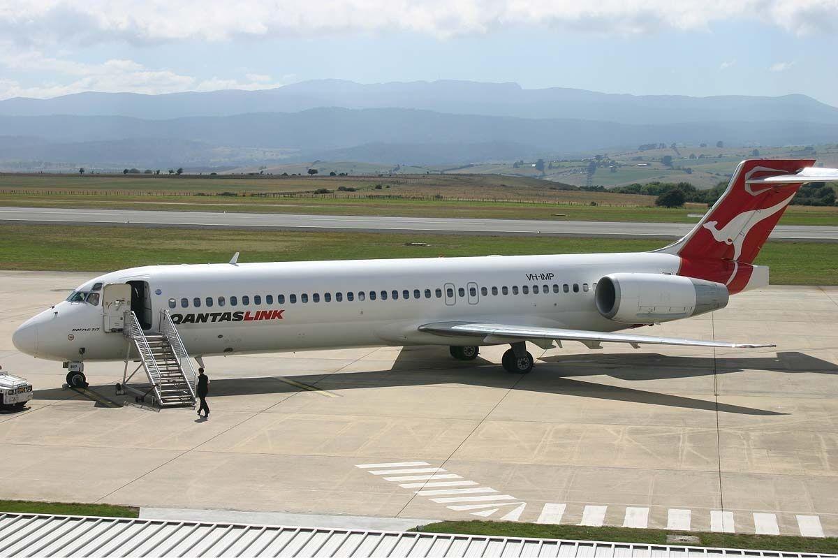 Resultado de imagen para QantasLink Boeing 717