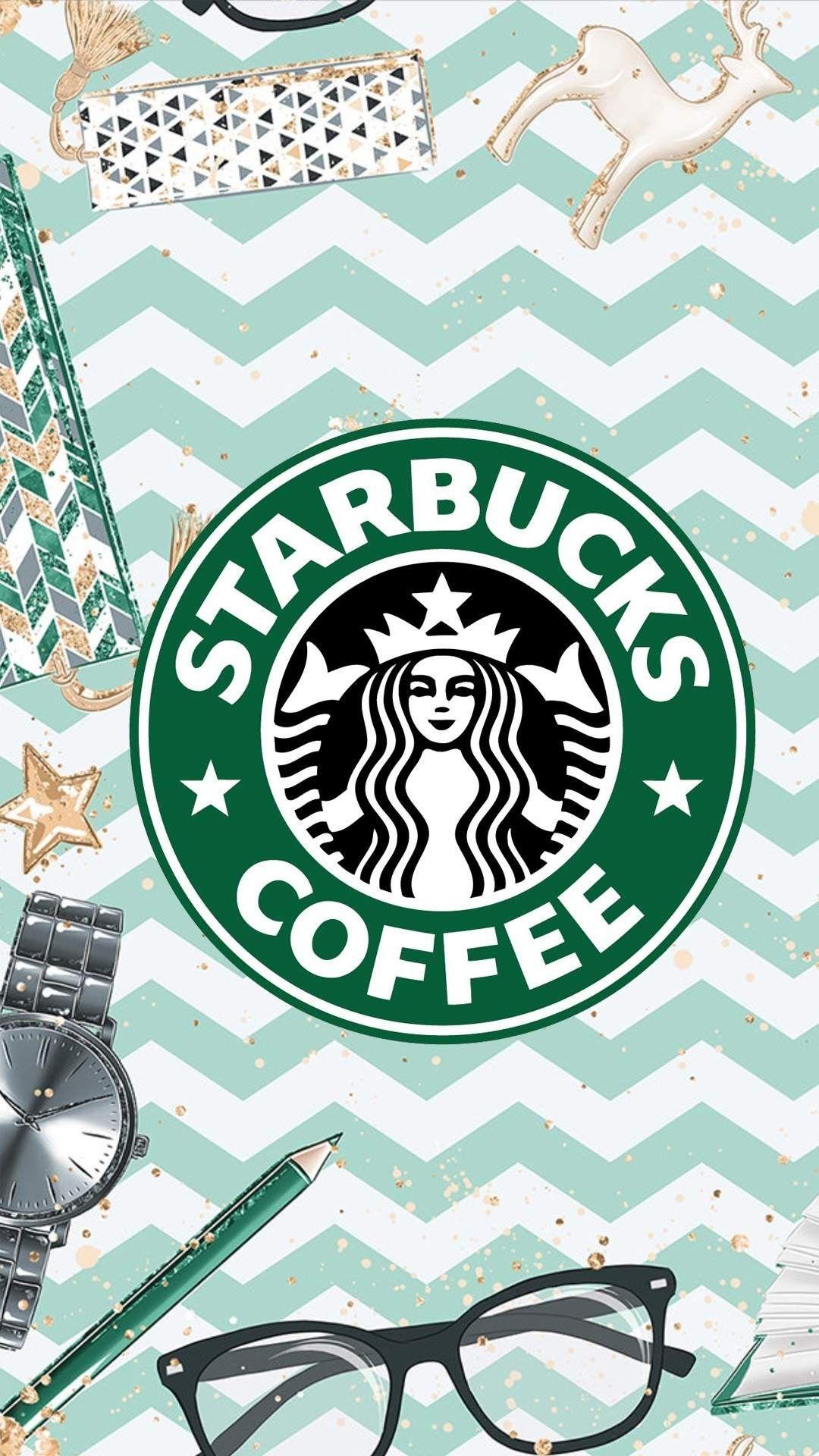 Starbucks Illustration Background Wallpaper キャラクター 壁紙