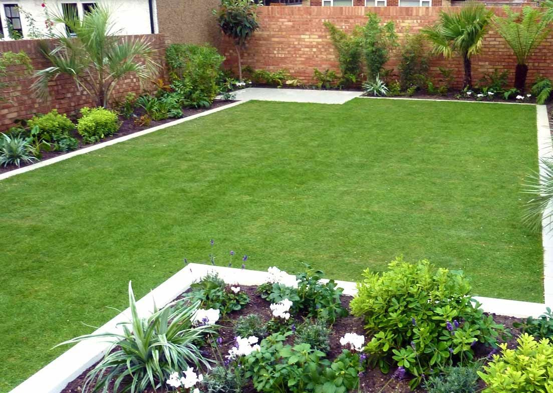 Modern Garden Design with Elegant Appear | Simple garden ...
