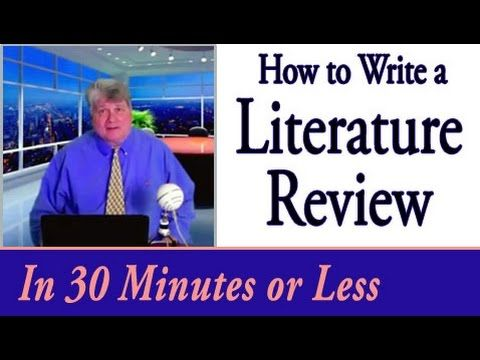 How To Write A Literature Review In 30 Minutes Or Less Essay Writing Help Literature Literature Review Sample